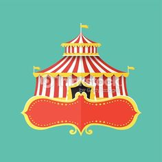 236x236 Vintage Circus Tent I Wanna Join The Circus! Fash300final1