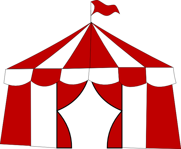 600x493 Carnival Tent Clipart Red Circus Tent Clip Art