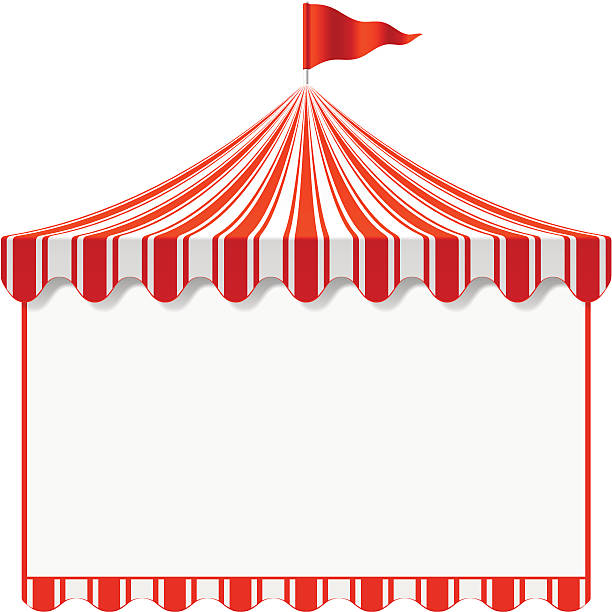 612x612 Carnival Tents Clipart Collection