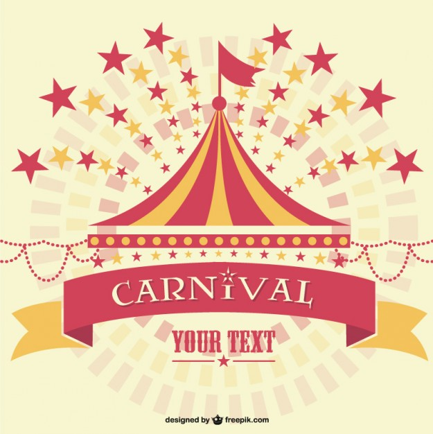 625x626 Carnival Marquee Background Template Vector Free Download