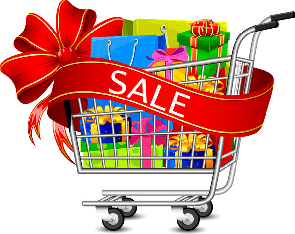 600x475 Shopping Cart Vector Graphics Free Vector In Encapsulated
