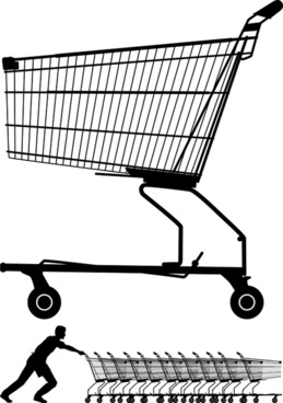 259x368 Shopping Trolley Vector Free Vector Download (1,731 Free Vector