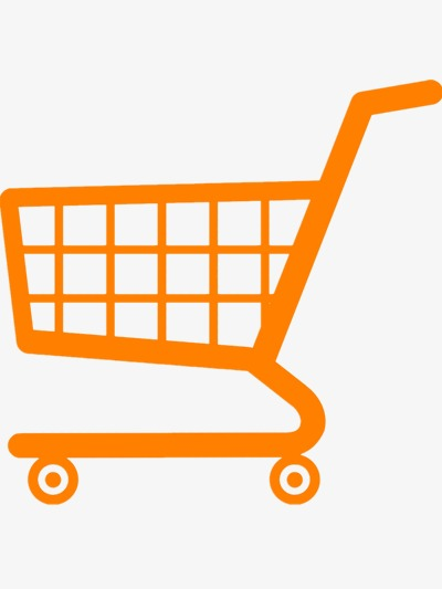 400x533 Supermarket Cart Vector, Shopping, Yellow, Abstract Png And Psd