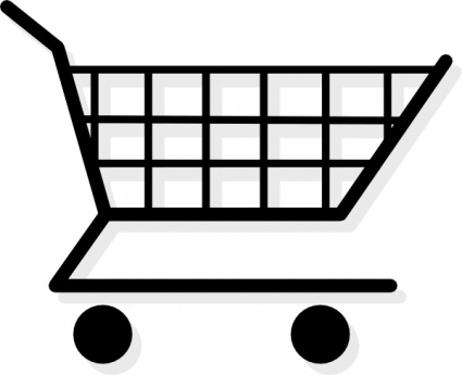 425x345 Free Download Of Shopping Cart Vector Graphic