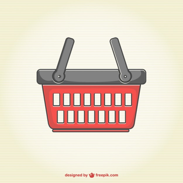 626x626 Shopping Basket Vector Free Vector Free Vector Download In .ai