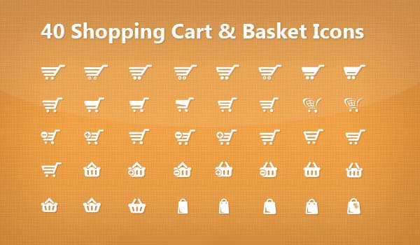600x350 40 Free Vector Shopping Cart Psd Icons Freebies Graphic Design