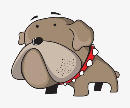 438x366 Cartoon Big Head Dog, Cartoon Vector, Head Vector, Dog Vector Png