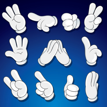 368x368 Cartoon Hand Gesture Free Vector Download (20,508 Free Vector) For