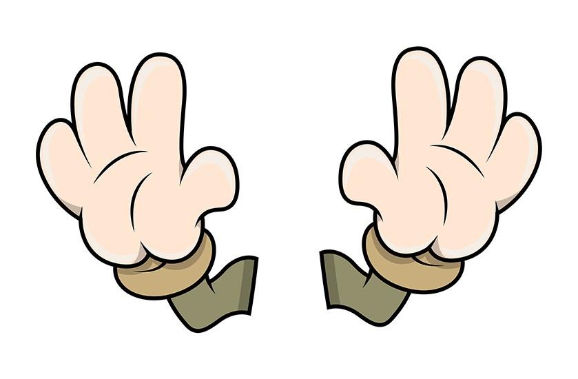 839x550 Download Free Cartoon Hands Vector Vector Illustration