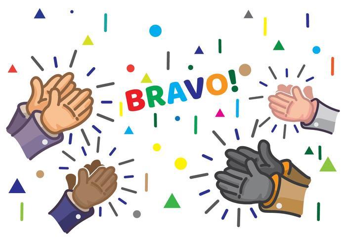 700x490 Cartoon Hands Clapping Celebration