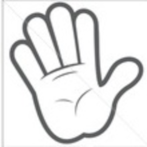 300x300 Stock Vector White Cartoon Hands Collection Set Of Variety Vector