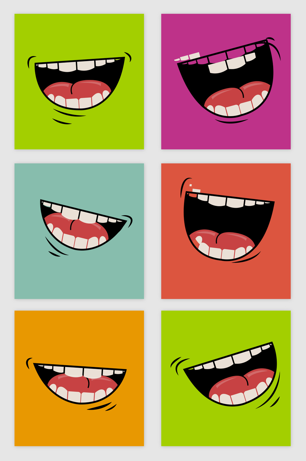 1024x1540 Cartoon Mouth Vector] Png Images,vector And Psd Free
