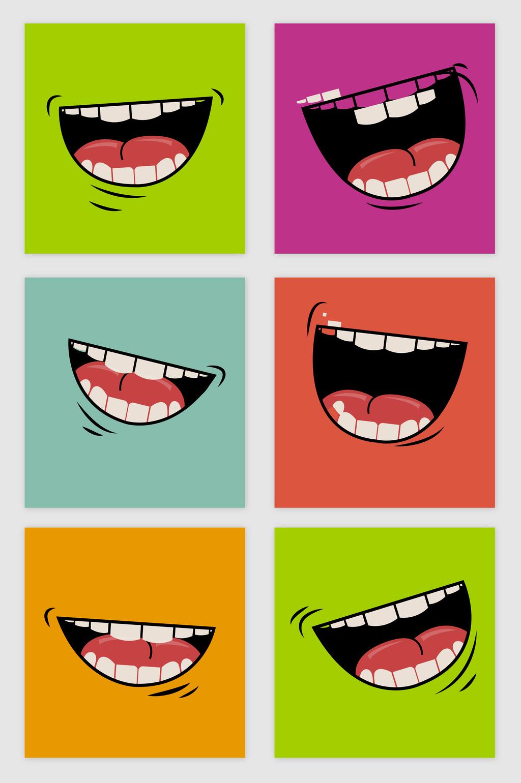 Cartoon Mouth Vector