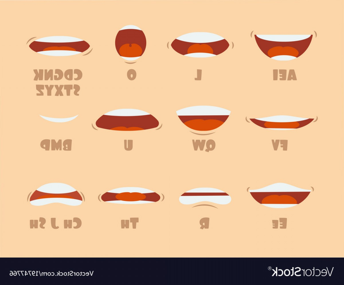 1200x996 Cartoon Talking Mouth And Lips Expressions Vector Arenawp