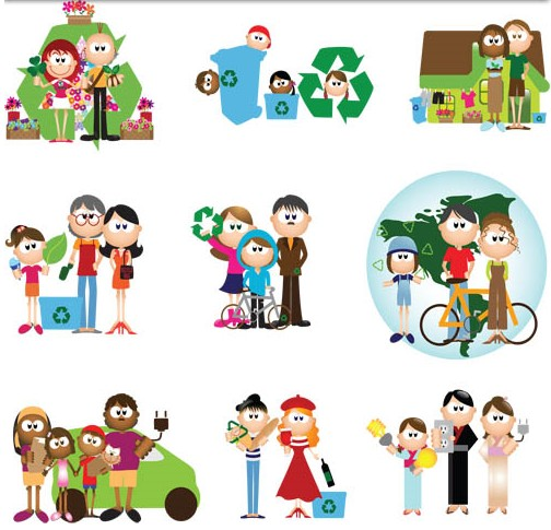 504x485 Cute Cartoon People Vector Ai Format Free Vector Download