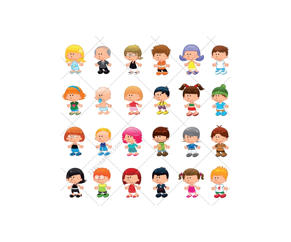 1200x1000 People Vector Pack
