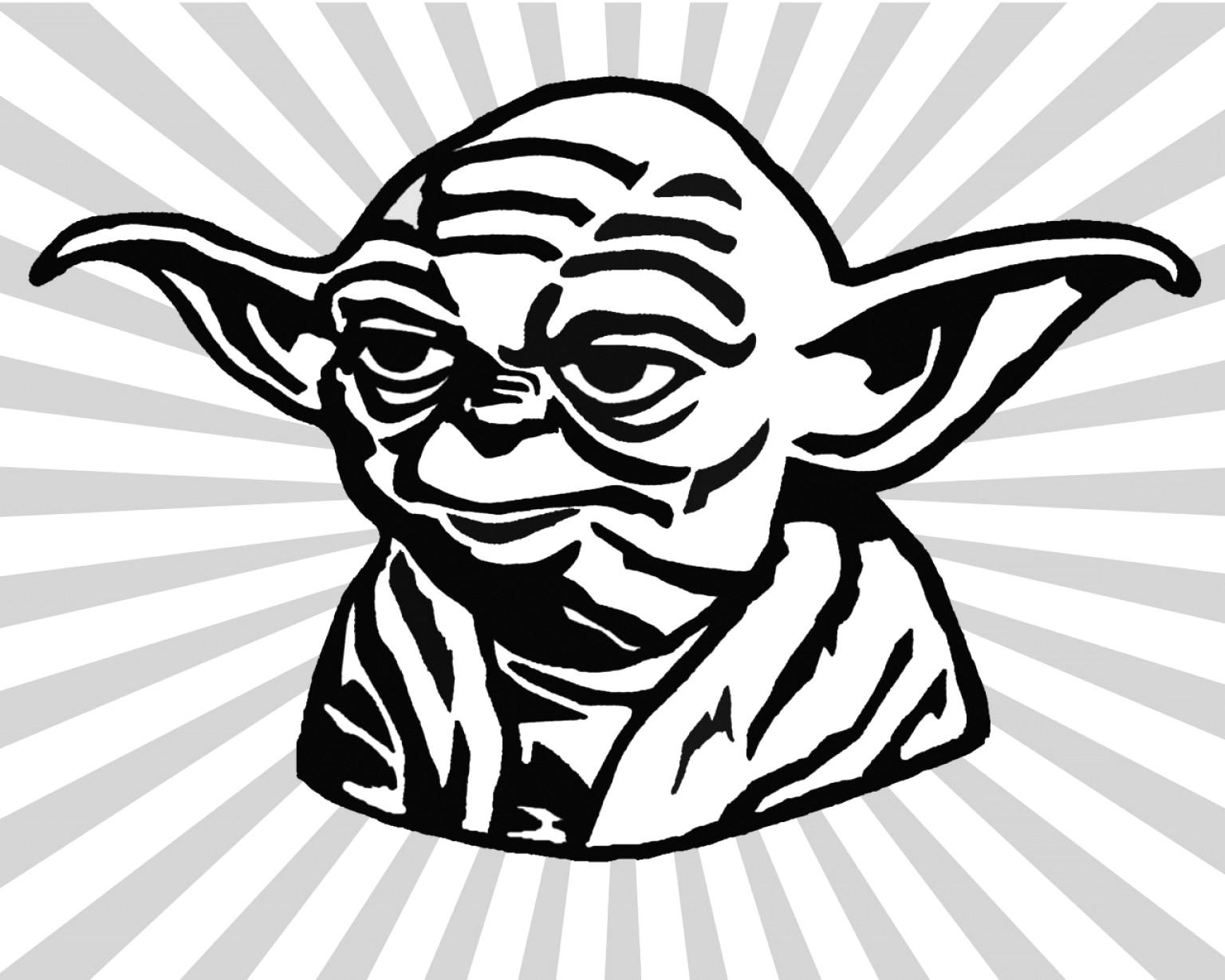 1536x1228 Chic Design Yoda Clipart Cartoon Vector Art Graphics Freevector