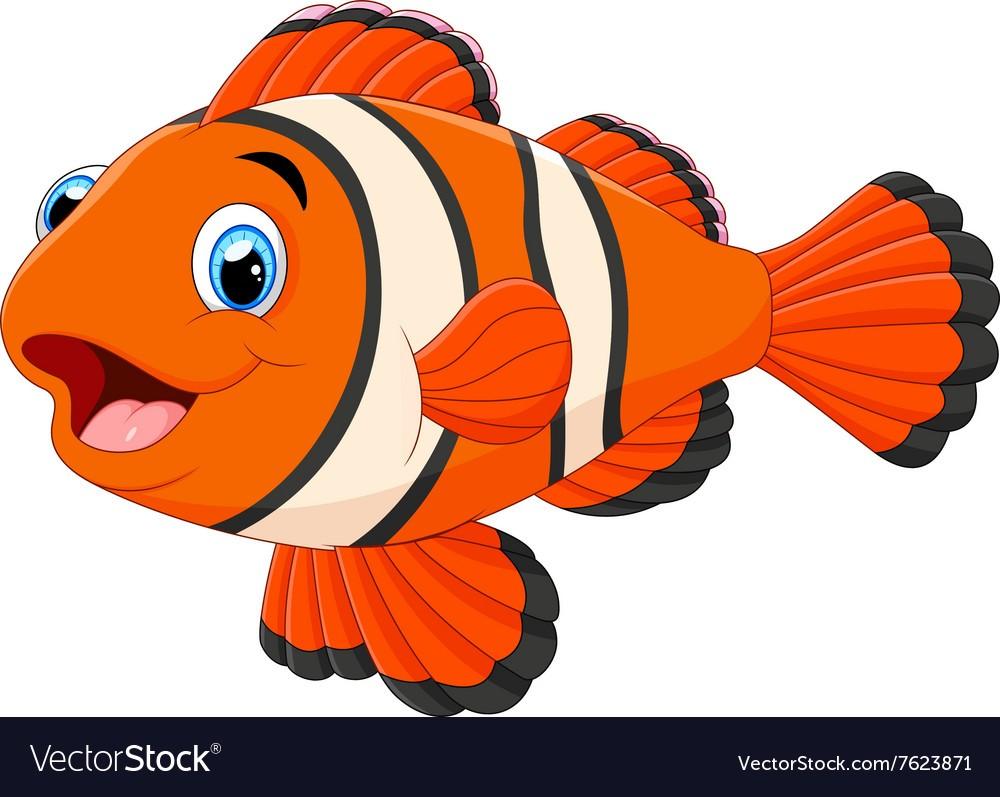 1000x797 Cute Clown Fish Cartoon Vector 7623871 Images 5