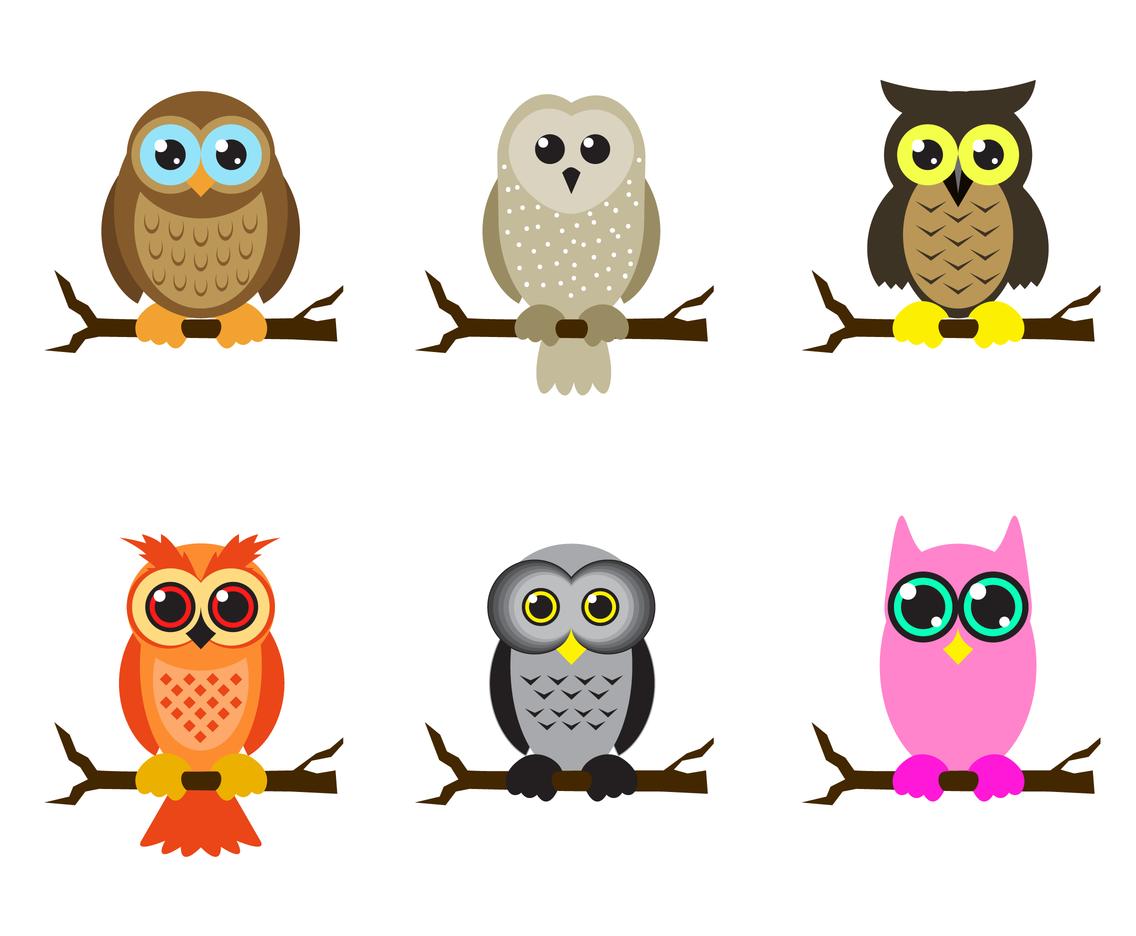 1136x936 Free Cartoon Owl Vector Vector Art Amp Graphics