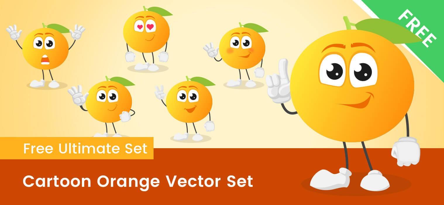 1518x700 Fruit Vector Cartoon Free Collection