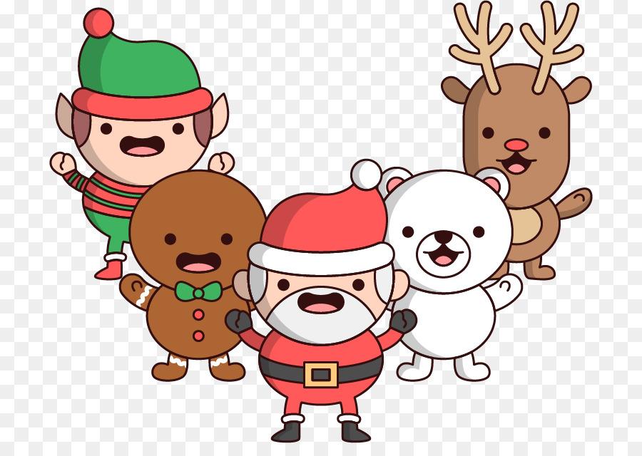 900x640 Reindeer Santa Claus Christmas