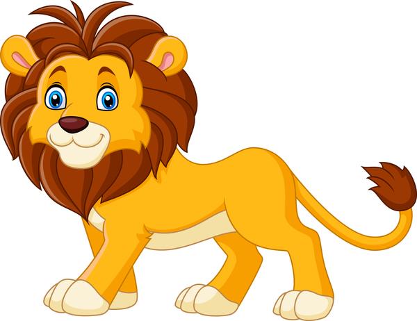 600x462 Lion Cartoon Vector Free Download