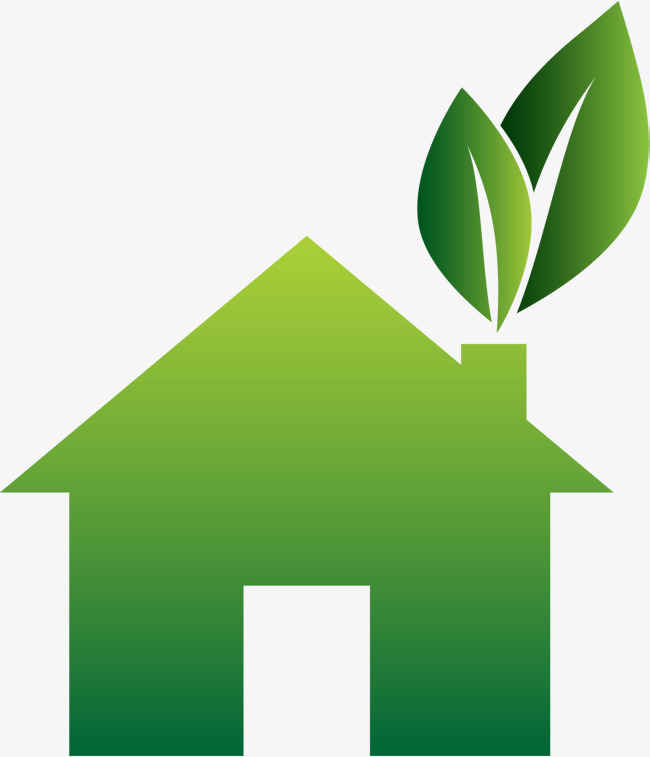 650x757 Green House Vector, Green Vector, House Vector, House Png And