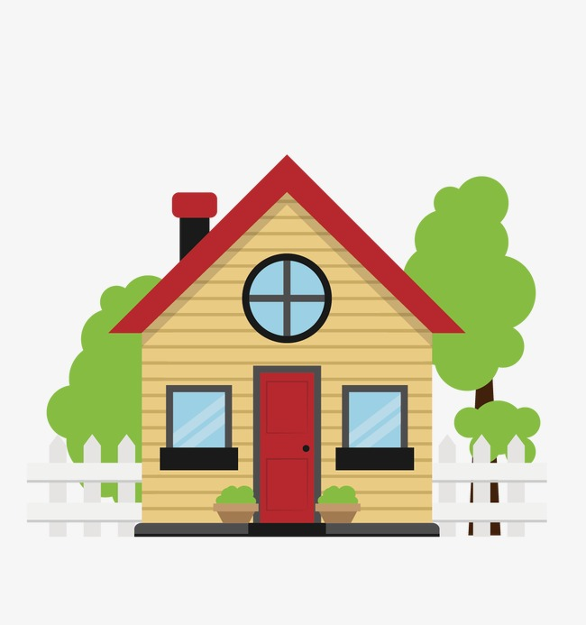 650x693 House, House Vector, Villa, Small Houses Png And Vector For Free