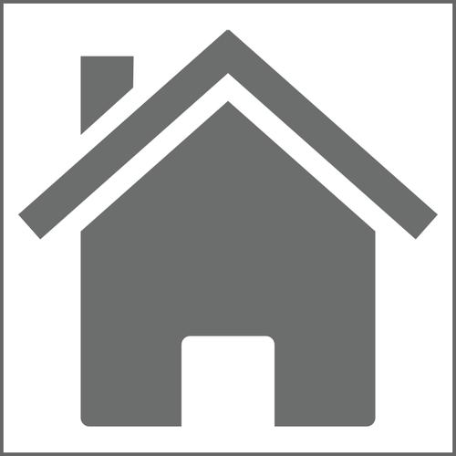 500x500 House Icon Public Domain Vectors