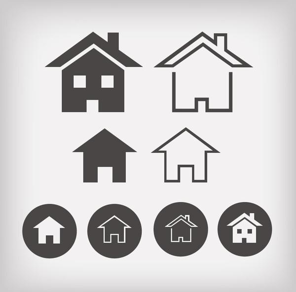 600x592 Iconos De Casa Vector Free Download