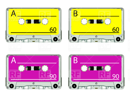 523x392 Cassette Tape Vector Image Vector Artwork Of Technology