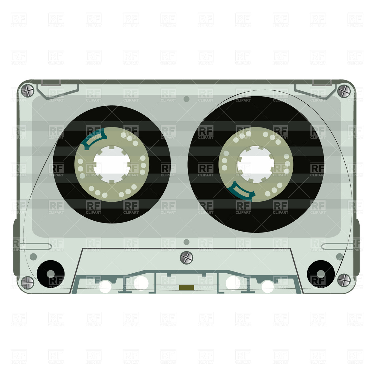1200x1200 Colorful Retro Cassette Tapes Vector Image Vector Artwork Of