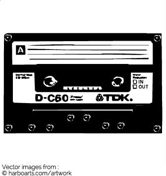 335x355 Download Oldschool Tdk Cassette Tape