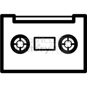 300x300 Royalty Free Cassette Tape Vector Icon 398849 Icon