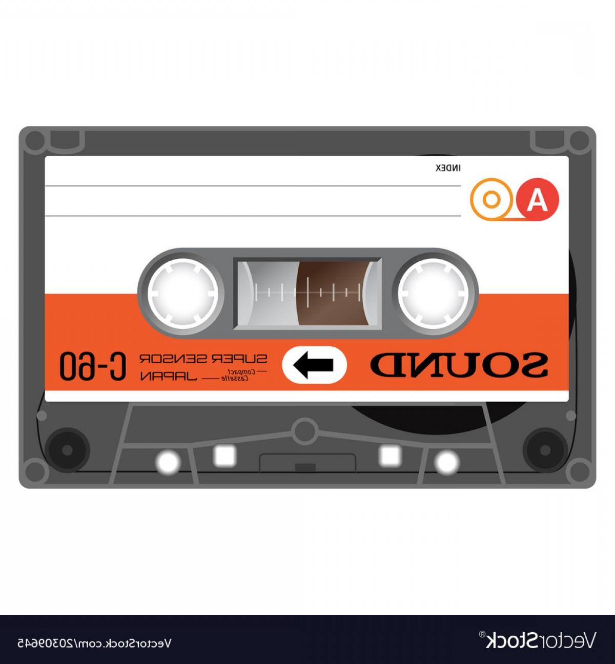 1200x1296 Vintage Audio Cassette Tape Vector Createmepink