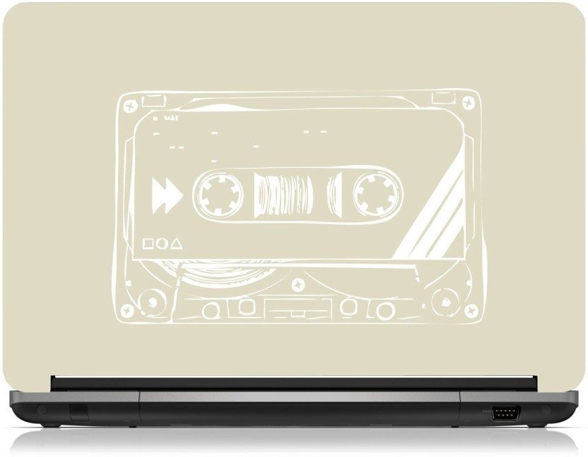832x648 Zapskin Cassette Tape Vector Art Skin Vinyl Laptop Decal 10.1