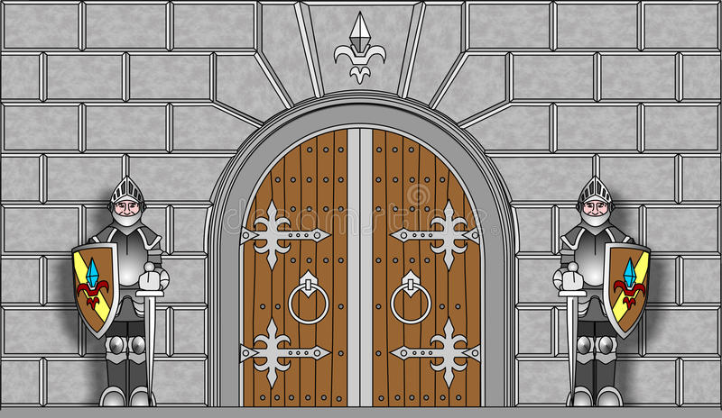800x464 Knight Clipart Castle Guard ~ Frames ~ Illustrations ~ Hd Images