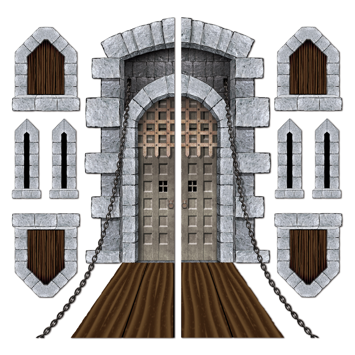 1200x1200 Buy New Castle Door Amp Window Props Caufieldscom, Animated Castle
