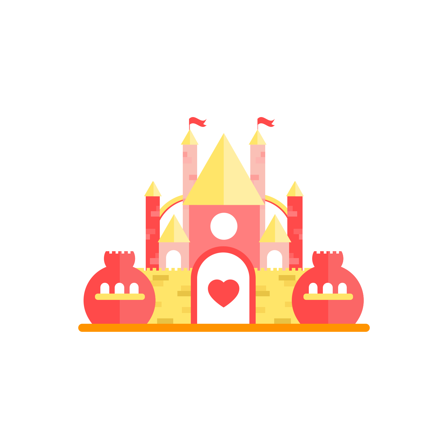 1500x1500 Fairy Tale Castle Icon
