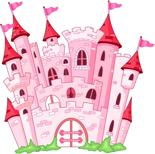 530x525 Pink Fairy Princess Castle Vector Free Vector In Encapsulated