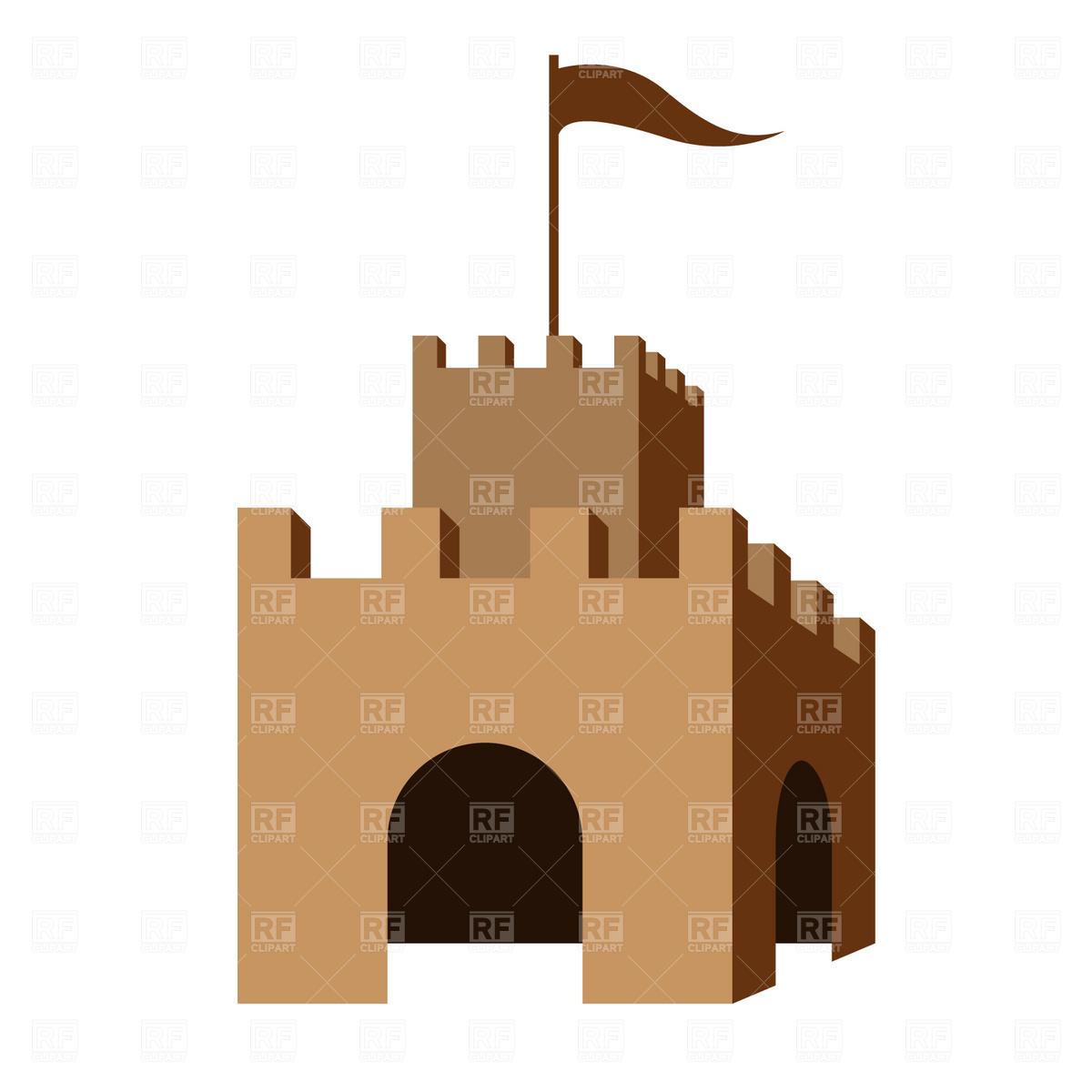 1200x1200 Symbolic Castle Vector Image Vector Artwork Of Architecture
