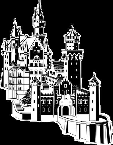 Castle Vector Art