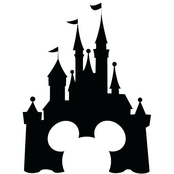 570x570 Disney Castle Vector S Disney Castle Vector Art