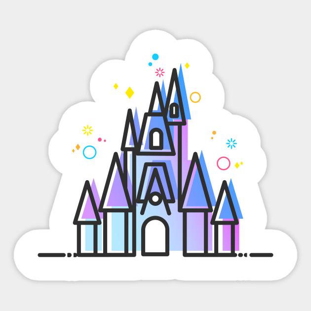 630x630 Fairytale Magic Castle Vector Artwork