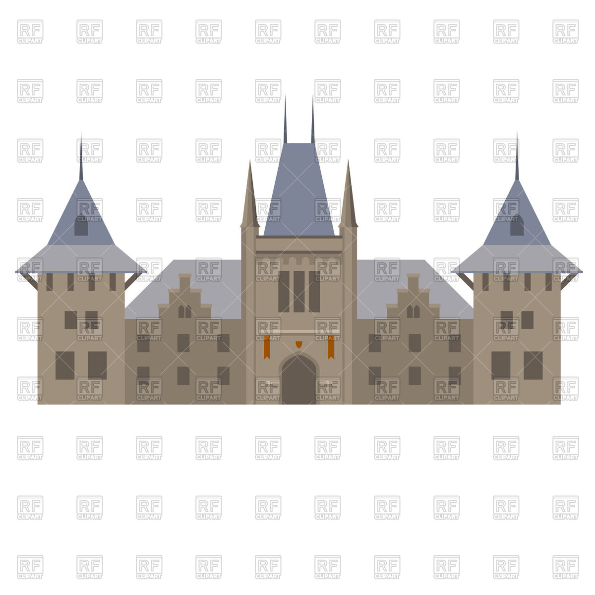 1200x1200 Medieval Luxurious Palace