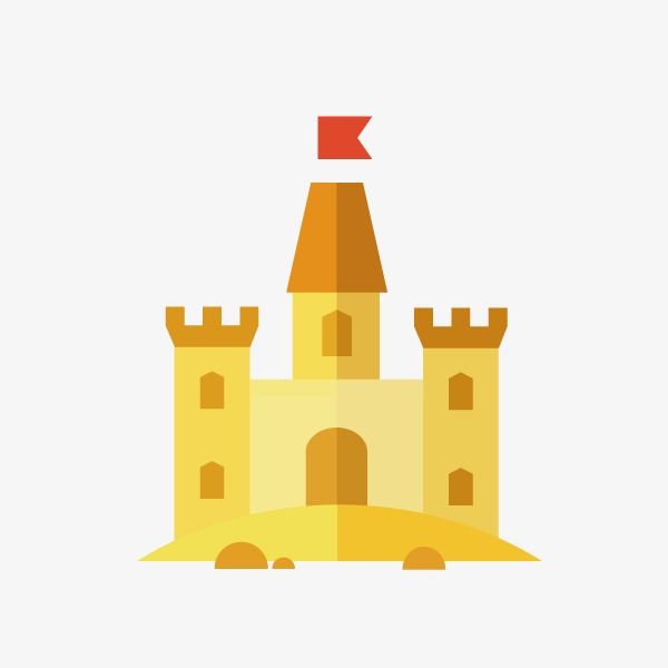 600x600 Castle Flat, Castle Vector, Flat Vector Png And Vector For Free