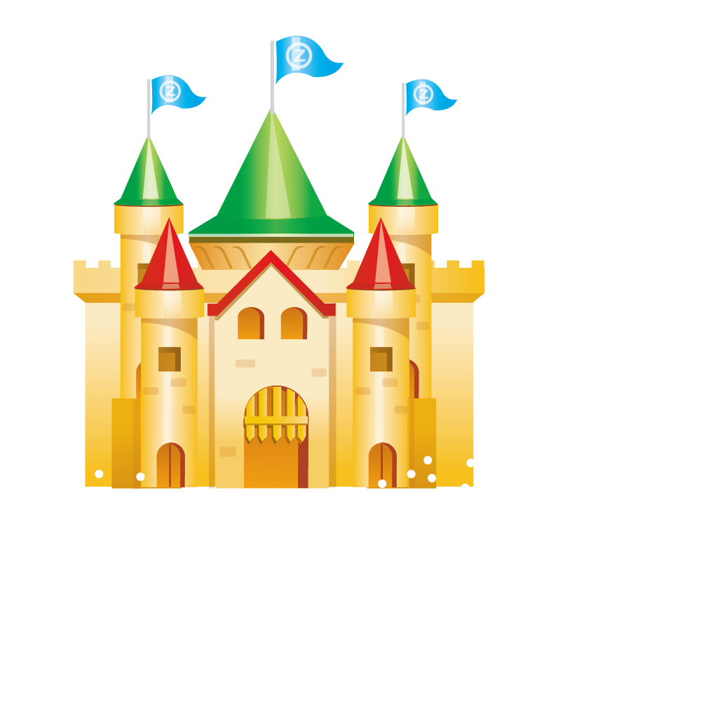 1000x1000 Castle Royalty Free Toy Clip Art