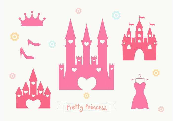 700x490 Castle Vector New Pink Princess Castle Vector Set Download Free