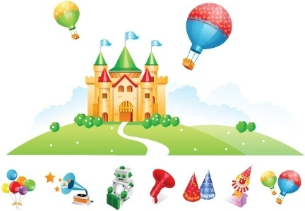 432x300 Halloween Castle Free Vector Download (1,055 Free Vector) For
