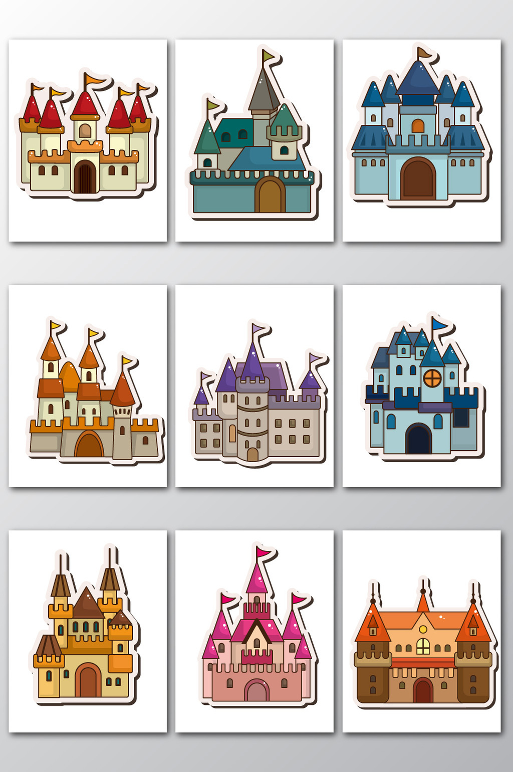 1024x1540 Castle Vector] Png Images,vector And Psd Free Download On